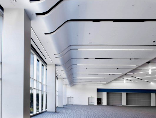 EConwed Designscape | Wall Technology urospan Stretched Fabric Acoustical Ceiling System