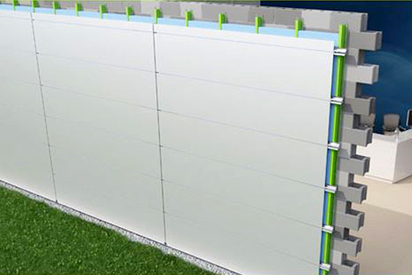 Composite Cladding on CMU With SMARTci™