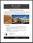 Dizal Digitally Printed Architectural Products