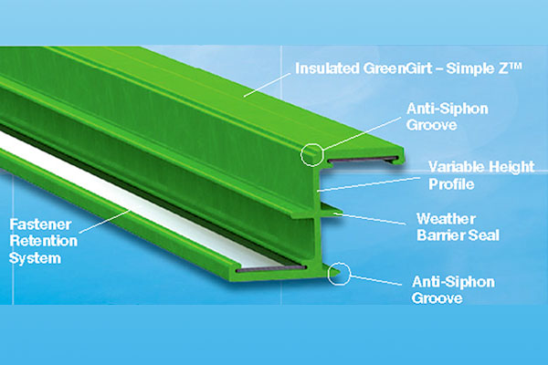 GreenGirt™ Simple Z™ Composite Sub-Framing
